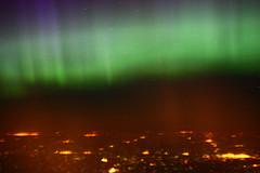 Aurora over Minnesota